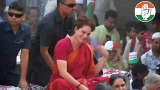Lok Sabha Election 2019   Smt. Priyanka Gandhi Vadra holds a roadshow in Delhi