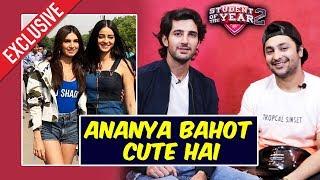 Harsh Beniwal And Aditya Seal CALLS Ananya Panday CUTE | Student Of The Year 2