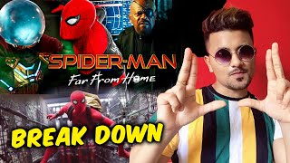 SPIDER-MAN FAR FROM HOME TRAILER BREAK DOWN | Multiverse, No Avengers, Mysterio