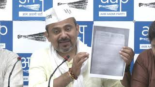 AAP North East Delhi Candidate Dilip Pandey & AAP Leader's Exposed BJP's Cheap Mindset