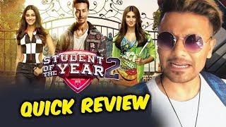 Student Of The Year 2 QUICK REVIEW | Tiger Shroff, Ananya Panday, Tara Sutaria