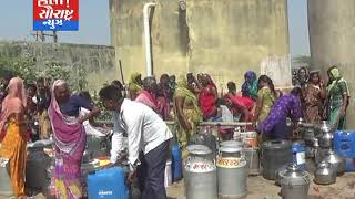 પાલીતાણા-માલપરા ગામમાં પાણીની અછત લોકોમાં આક્રોશ