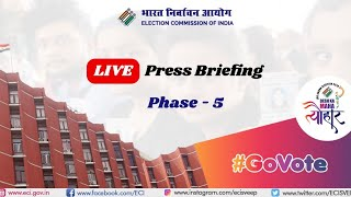 ECI Press Conference - Phase 5