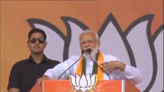 PM Shri Narendra Modi addresses public meeting in Rohtak, Haryana : 10.05.2019
