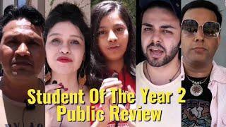STUDENT OF THE YEAR 2 - PUBLIC REVIEW - Tiger Shroff, Ananya Pandey & Tara Sutaria