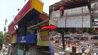 Niyaz Restaurant in Merces Finally Razed To Ground