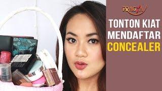 Tonton Kiat Mendaftar Concealer | Tips Merias