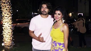 Gurmeet Choudhary With Wife Debina Bonnerjee Spotted At Yauatcha Bkc