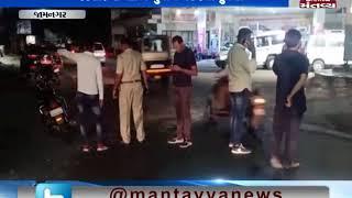 Jamnagar: અંબર ચાર રસ્તા પાસે યુવક પર નજીવ બાબતે થયો હુમલો