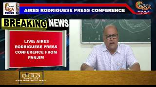????LIVE: Aires Rodriguese Press Conference From Panjim