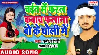 आ गया 2019 का नया चइता - Chait Me Falana Bo Ke Choli Me - Superhit New Chaita 2019 #Rupesh Giri