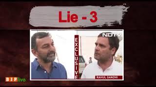 Lies, lies and lies...watch how Rahul Gandhi exposes Rahul Gandhi!