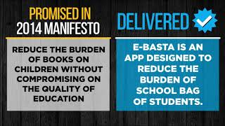 E-BASTA app launched reducing the burden of school bag of students