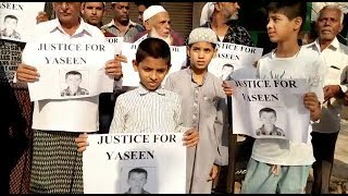Justice For Yaseen | Yaseen Ke Qatilo Ko Maut Ki Saza Do | Protest For Justice |