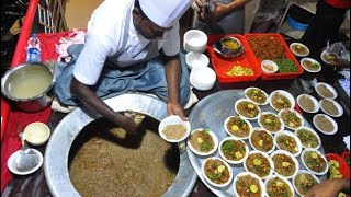 Worlds Cheapest Haleem | In Hyderabad | Only 25rs | 50 Cents | Hyderabad | Majid Kirana And Caterers