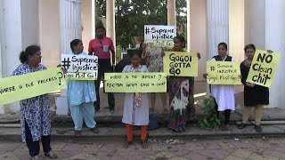 Sexual Harrasment: Women activists in Goa protest after clean chit to CJI Rankan Gogoi