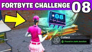 FORTBYTE 08 - Found Within Junk Junction LOCATION Fortnite Challenges