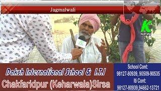 #ChunaviChaupal #KHaryana में देखिए पंजाबी बेल्ट गांव #Jagmalwali का जबरदस्त सर्वे