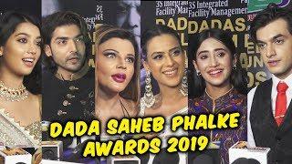 Dadasaheb Phalke Film Foundation Awards 2019   Mohsin Khan, Shivangi Joshi, Nia Sharma, Gurmeet