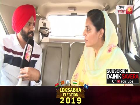 Exclusive Interview of Raja Warring's wife Amrita Warring on situation of Bathinda seat