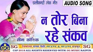 Na Tor Bina Rahe Sankav | Cg Song | Seema Kaushik | New Chhattisgarhi Geet | HD Video 2018