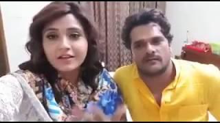 LIVE #Khesari Lal Yadav और #Kajal Raghwani #Dulhin Ganga Paar Ke ग्रेट ओपनिंग  पे क्या कहा ?
