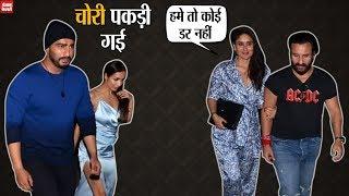 Malaika Arora and  Arjun Kapoor party with Kareena Kapoor and Saif Ali Khan.
