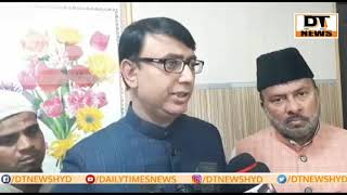 Amjed Ullah Khan | Demands Inquiry Over Ek Khana Masjid To Minority Commission Telanagna | MBT