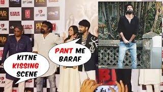 Reporter Aks Embarrassing Question To Shahid Kapoor And Kiara Advani | Kabir Singh Trailer Launch