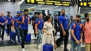Mumbai Indians Team Returns To Mumbai After Wining IPL 2019