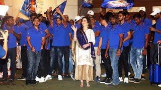 Nita Ambani's GRAND PARTY For Mumbai Indians Team At Antilia