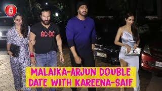 Malaika Arora-Arjun Kapoor Go On A Double Date With Kareena Kapoor-Saif Ali Khan