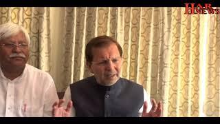 कांग्रेस के बूथ कैप्चरिंग के आरोपों पर भाजपा प्रत्याशी अरविंद शर्मा ने दिया जवाब