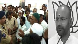 Kishan Reddy Aur Amberpet Ke Musalmano Ka Masjid Ek Khana Ko Lekar Bayan | @ SACH NEWS |