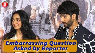 Shahid Kapoor BLUSHES When Asked About Ice Scene In Kabir Singh