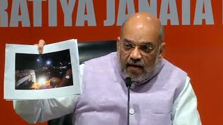 TMC responsible for violence, they brought down Vidyasagar statue: Amit Shah