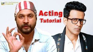 Improve Your Acting. Acting Tutorial with Shiv Singh Shrinet. CB Bollywood