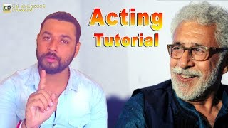 Shiv Singh Shrinet Vol-2# Improve Your Acting. Acting Tutorial with Shiv Singh Shrinet -CB Bollywood