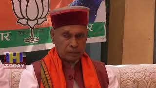 15 MAY N 1 Former CM Prem Kumar Dhumal promoted fast for Anurag Thakur