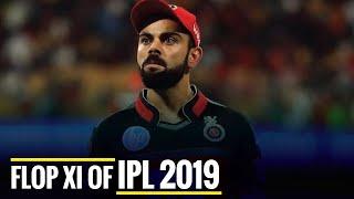 Flop XI of IPL 2019, Virat Kohli as captain