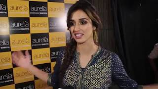 Disha Patani At The Launch Of Aurelia  A Contemporary Ethnic Wear Brand By TCNS