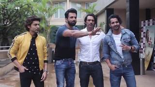 "Gurmeet Choudhary Arjun Rampal Sonu Sood Pramotion Of Hindi Film ""Paltan"""