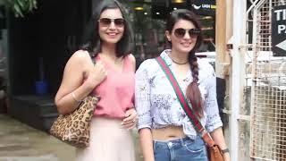 Ihana Dhillon spotted outside Tip Toe salon Juhu