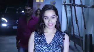SHRADDHA KAPOOR SPOTTED DURING DUBBING AT SUNNY SUPER SOUND