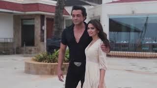 Sunny Deol  Bobby Deol Kirti Kharbanda Spotted At SunSand