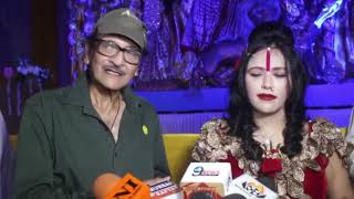 Radhe Maa Visit at Sarbojoneen Sree Sree Durgostsav Sequence 01 3