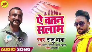 Abhinandan को सलाम झुका पाकिस्तान शेर लौटा हिंदुस्तान - ऐ वतन सलाम - Raju Baba -New Desh Bhakti Song