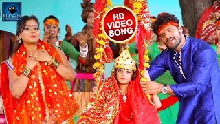 #Khesari Lal और #Priyanka Singh का सुपरहिट देवी गीत -#Jhuluwa Jhulayi Liyo Re - Navratri Songs