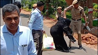 Nowhere Shiek Heera Group Handed Over to Enforcement Director   ED   She Falls During The Transfer  