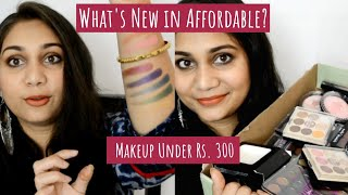 What's New in Affordbale? | New Affordable Makeup Under Rs. 300 | CuffsnLashes Haul | Nidhi Katiyar